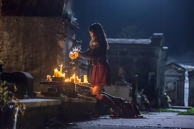 "Malaya Rivera Drew as Jane-Anne in the The Vampire Diaries spinoff ""The Originals"""
