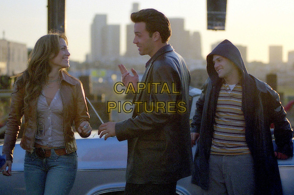 JENNIFER LOPEZ, BEN AFFLECK & JUSTIN BARTHA .in Gigli .Filmstill - Editorial Use Only.CAP/AWFF.www.capitalpictures.com.supplied by Capital Pictures.