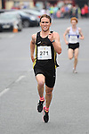 Third place in the Dunleer 4 mile run Datrragh Greene from Dunleer AC. Photo: Colin Bell/pressphotos.ie