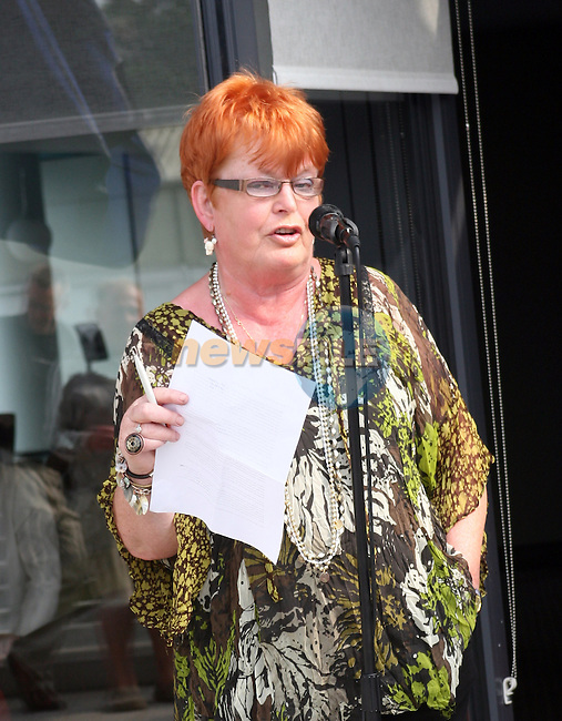 Phil Conyngham speaks at the Launch of the Samba Festival in the D Hotel...Photo NEWSFILE/Jenny Matthews.(Photo credit should read Jenny Matthews/NEWSFILE)....This Picture has been sent you under the condtions enclosed by:.Newsfile Ltd..The Studio,.Millmount Abbey,.Drogheda,.Co Meath..Ireland..Tel: +353(0)41-9871240.Fax: +353(0)41-9871260.GSM: +353(0)86-2500958.email: pictures@newsfile.ie.www.newsfile.ie.FTP: 193.120.102.198.