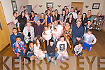 Parents Yvonne and Jamie O'Connor, Balloonagh, Celebrate the Chritening of Baby Cassie at St. Brendan's Church by Fr. Patsy Lynch and after with family and friends at Kerins O'Rahillys Club House on Saturday