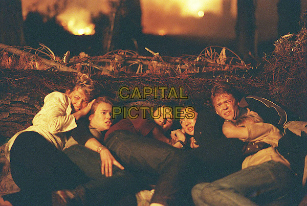 KATE RAISON, ELLEN MUTH, .MORGAN PALMER HUBBARD, JAY BUNYAN, .EMMA LUNG & DAN MOTT.in Superfire.*Filmstill - Editorial Use Only*.Ref: FB.Supplied by Capital Pictures.sales@capitalpictures.com.www.capitalpictures.com.