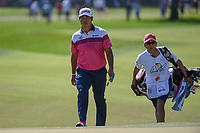 Hideki Matsuyama (JPN) approaches the green on 1 during round 3 of the Arnold Palmer Invitational at Bay Hill Golf Club, Bay Hill, Florida. 3/9/2019.<br /> Picture: Golffile | Ken Murray<br /> <br /> <br /> All photo usage must carry mandatory copyright credit (&copy; Golffile | Ken Murray)