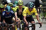 Race leader Yellow Jersey Egan Bernal (COL) Team Sky during Stage 8 of the 77th edition of Paris-Nice 2019 running 110km from Nice to Nice, France. 16th March 2019<br /> Picture: ASO/Alex Broadway | Cyclefile<br /> All photos usage must carry mandatory copyright credit (&copy; Cyclefile | ASO/Alex Broadway)