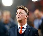 Nederland, Amsterdam, 14 november 2012 .Seizoen 2012-2013.Oefeninterland.Nederland-Duitsland .Louis van Gaal, trainer-coach van Nederland
