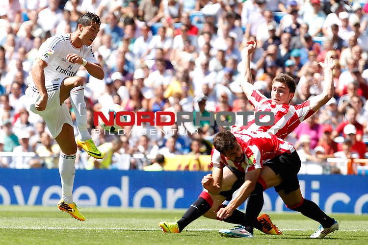 Real Madrid's Cristiano Ronaldo during La Liga Match. September 01, 2013. Foto © nph / Caro Marin)