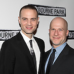 Jordan Roth & Richie Jackson.attending the Broadway Opening Night Performance After Party for 'Clybourne Park' at Gotham Hall in New York City on 4/19/2012
