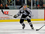 7 February 2009: Providence College Friars' right wing forward Chris Eppich, a Junior from Surrey, B.C., in action against the University of Vermont Catamounts during the second game of a weekend series at Gutterson Fieldhouse in Burlington, Vermont. The Catamounts swept the 2-game series notching 4-1 wins in both games. Mandatory Photo Credit: Ed Wolfstein Photo
