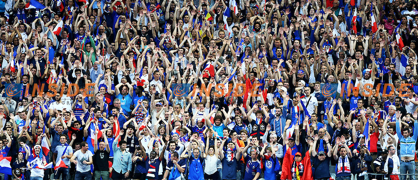 Tifosi Francia France Supporters <br /> Paris 10-06-2016 Stade de France football Euro2016 France - Romania  / Francia - Romania Group Stage Group A. Foto Matteo Ciambelli / Insidefoto