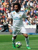 Real Madrid's Marcelo Vieira during La Liga match. April 8,2018. (ALTERPHOTOS/Acero) NortePhoto.com