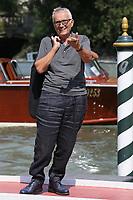 VENICE, ITALY - September 01: Marco Bellocchio arrives in Darsena Excelsior during the 76th Venice Film Festival  on September 01, 2019 in Venice, Italy. (Photo by Mark Cape/Insidefoto)<br /> Venezia 01/09/2019