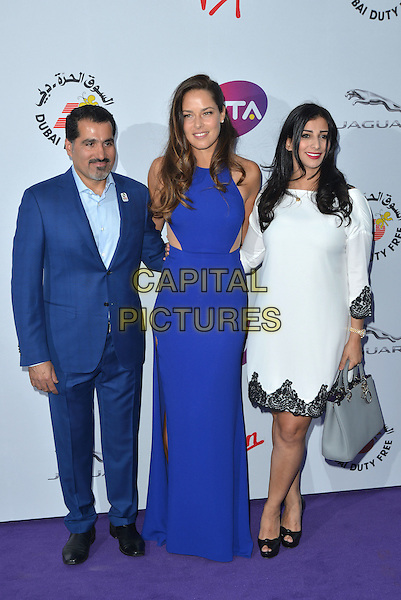 Ana Ivanovic<br /> attending the WTA Pre-Wimbledon Party at  The Roof Gardens, Kensington, London England 25th June 2015.<br /> CAP/PL<br /> &copy;Phil Loftus/Capital Pictures