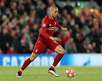 Liverpool's Fabinho<br /> <br /> Photographer Rich Linley/CameraSport<br /> <br /> UEFA Champions League Semi-Final 2nd Leg - Liverpool v Barcelona - Tuesday May 7th 2019 - Anfield - Liverpool<br />  <br /> World Copyright © 2018 CameraSport. All rights reserved. 43 Linden Ave. Countesthorpe. Leicester. England. LE8 5PG - Tel: +44 (0) 116 277 4147 - admin@camerasport.com - www.camerasport.com