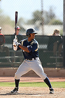Khris Davis, Milwaukee Brewers 2010 minor league spring training..Photo by:  Bill Mitchell/Four Seam Images.