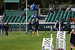 Stamford, Lincolnshire, United Kingdom, 5th September 2019, Team Spence during the Dressage Phase on Day 1 of the 2019 Land Rover Burghley Horse Trials, Credit: Jonathan Clarke/JPC Images