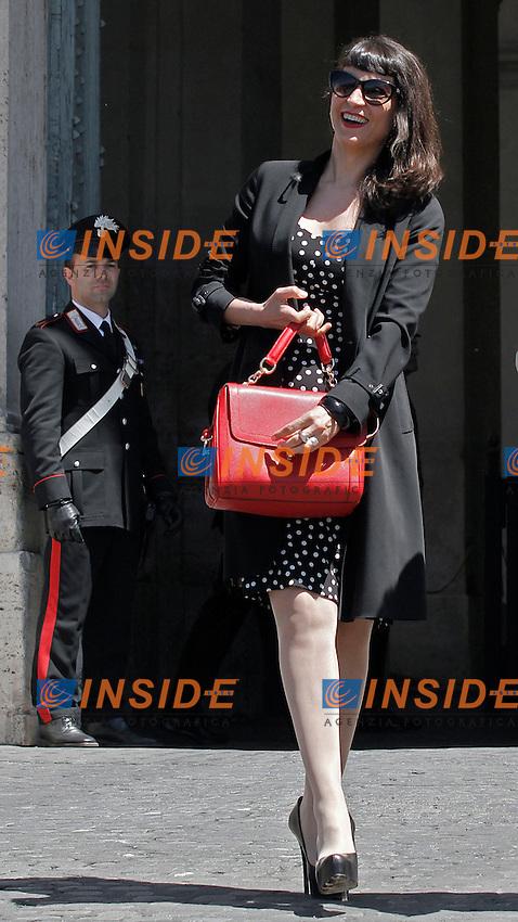Donatella Finocchiaro.Roma 03/04/2012 Cerimonia di presentazione dei David di Donatello 2012 al Quirinale.Foto Serena Cremaschi Insidefoto