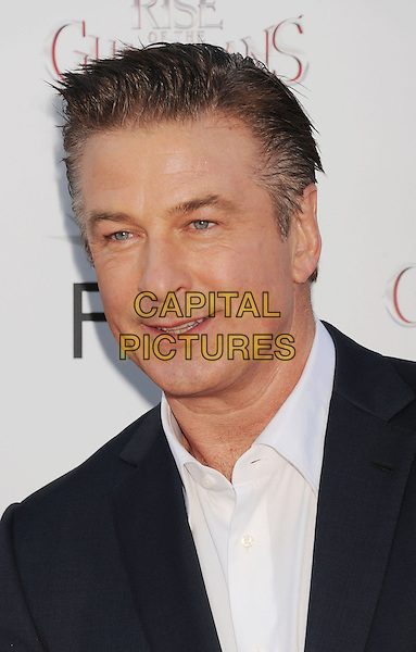 "Alec Baldwin.AFI FEST 2012 ""Rise of the Guardians"" Gala Screening held at Grauman's Chinese Theatre, Hollywood, California, USA..November 4th, 2012.headshot portrait white shirt blue .CAP/ROT/TM.©Tony Michaels/Roth Stock/Capital Pictures"
