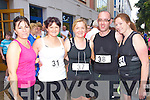 Pictured at the Enable Ireland 5k run at the Brandon on Saturday, from left: Mary O'Connor, Ballyfinnane, Eileen Courtney, Castlemaine, Bridget Flynn, Castlemaine Crusaders, Bart Flynn, Castlemaine, Siobhan Griffin, Castlemaine (all Castlemaine running club).