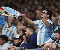 Atmosphere<br /> Spain vs Argentina selections team pre Russian Soccer World Cup football match at Wanda Metropolitano stadium in Madrid on March 27, 2018.