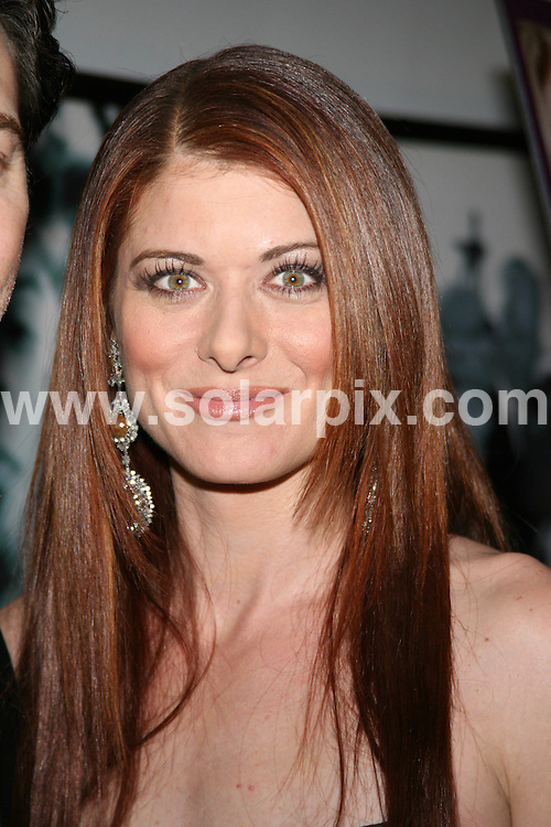 "**ALL ROUND PICTURES FROM SOLARPIX.COM**.**SYNDICATION RIGHTS FOR UK, SPAIN, PORTUGAL, AUSTRALIA, S.AFRICA & DUBAI (U.A.E) ONLY**.The ""Damages"" Season 2 Television Series Premiere the Arrivals at the Directors Guild of America Theatre (DGA) in New York City, New York USA. .This pic: Debra Messing..JOB REF:8152-PHZ/Gaboury   DATE:13-12-08 .**MUST CREDIT SOLARPIX.COM OR DOUBLE FEE WILL BE CHARGED* *ONLINE USAGE FEE £50.00 PER PICTURE - NOTIFICATION OF USAGE TO PHOTO@SOLARPIX.COM*"
