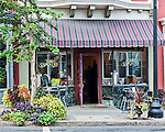 The Cascades Cafe, located on Warren Street in Hudson, New York