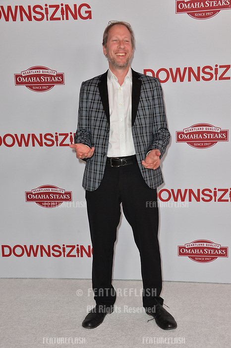Rolfe Kent at the special screening of &quot;Downsizing&quot; at the Regency Village Theatre, Westwood, USA 18 Dec. 2017<br /> Picture: Paul Smith/Featureflash/SilverHub 0208 004 5359 sales@silverhubmedia.com