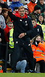 Jurgen Klopp manager of Liverpool reacts during the game - English Premier League - Newcastle Utd vs Liverpool - St James' Park Stadium - Newcastle Upon Tyne - England - 6th December 2015 - Picture Simon Bellis/Sportimage
