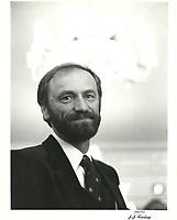 Nelson Skalbania, proprietaire des Alouettes<br /> , 12 juin 1981<br /> PHOTO : Agence Quebec Presse