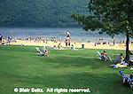 Beach, Beltzville State Park, Carbon Co., NE PA