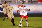 14 November 2008: Maryland's Graham Zusi (11). The University of Maryland defeated Boston College 1-0 at WakeMed Stadium at WakeMed Soccer Park in Cary, NC in a men's ACC tournament semifinal game.