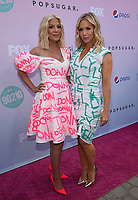 "LOS ANGELES - AUGUST 3: Tori Spelling and Jennie Garth attend the BH 90201 Peach Pit Pop-Up for FOX's ""BH90201"" on August 3, 2019 in Los Angeles, California. (Photo by Frank Micelotta/Fox/PictureGroup)"