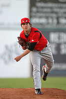 May 2, 2010: Zachary Herr of the Lake Elsinore Storm during game against the Lancaster JetHawks at Clear Channel Stadium in Lancaster,CA.  Photo by Larry Goren/Four Seam Images