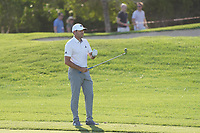 Sergio Garcia (ESP) on the 17th fairway during Round 3 of the Abu Dhabi HSBC Championship at the Abu Dhabi Golf Club, Abu Dhabi, United Arab Emirates. 18/01/2020<br /> Picture: Golffile | Thos Caffrey<br /> <br /> <br /> All photo usage must carry mandatory copyright credit (© Golffile | Thos Caffrey)