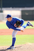 Jonathan Nagel, Chicago Cubs 2010 minor league spring training..Photo by:  Bill Mitchell/Four Seam Images.