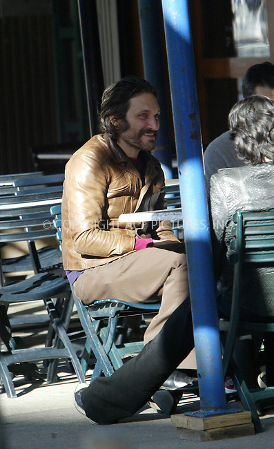 WWW.ACEPIXS.COM . . . . .  ....NEW YORK, APRIL 15, 2005....Vincent Gallo is seen eating at Bar Pitti.....Please byline: Ian Wingfield - ACE PICTURES..... *** ***..Ace Pictures, Inc:  ..Craig Ashby (212) 243-8787..e-mail: picturedesk@acepixs.com..web: http://www.acepixs.com