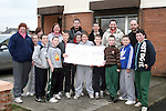 Students from DIFE, Ian Mulroy and Shane O'Keefe present Cheque to Cable Project. Recieving the cheque here are Project Coordinator Alan O'Donoghue and Garda Anita Grennan...Photo NEWSFILE/Jenny Matthews.(Photo credit should read Jenny Matthews/NEWSFILE)....This Picture has been sent you under the condtions enclosed by:.Newsfile Ltd..The Studio,.Millmount Abbey,.Drogheda,.Co Meath..Ireland..Tel: +353(0)41-9871240.Fax: +353(0)41-9871260.GSM: +353(0)86-2500958.email: pictures@newsfile.ie.www.newsfile.ie.FTP: 193.120.102.198.