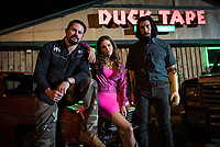 Logan Lucky (2017) <br /> Channing Tatum, Riley Keough &amp; Adam Driver<br /> *Filmstill - Editorial Use Only*<br /> CAP/KFS<br /> Image supplied by Capital Pictures