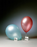 HELIUM &amp; NITROGEN FILLED BALLOONS (3 of 5)<br />