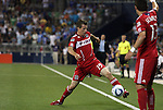 09 June 2011: Chicago's Corben Bone (19). Sporting Kansas City played the Chicago Fire to a 0-0 tie in the inaugural game at LIVESTRONG Sporting Park in Kansas City, Kansas in a 2011 regular season Major League Soccer game.