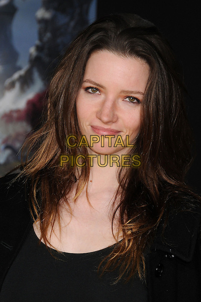 "Talulah Riley.""Oz the Great and Powerful"" Los Angeles Premiere held at the El Capitan Theatre, Hollywood, California, USA..February 13th, 2013 .headshot portrait black.CAP/ADM/BP.©Byron Purvis/AdMedia/Capital Pictures."