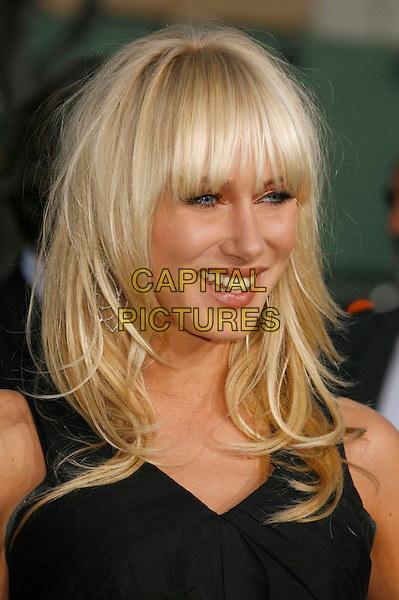 "KIMBERLEY STEWART.""The Reaping"" Los Angeles Premiere held at Mann's Village Theatre, Hollywood, California, USA..March 29th, 2007.headshot portrait fringe bangs Kimberly .CAP/ADM/RE.©Russ Elliot/AdMedia/Capital Pictures"