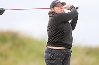 Dawn Scarborough (Temple) during the 2nd round of the Irish Women's Open Stroke Play Championship, Enniscrone Golf Club, Enniscrone, Co. Sligo. Ireland. 16/06/2018.<br /> Picture: Golffile | Fran Caffrey<br /> <br /> <br /> All photo usage must carry mandatory  copyright credit (© Golffile | Fran Caffrey)