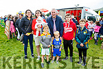 Fun for all at the Cahersiveen races on Saturday pictured here l-r; Martina Harte, Sheila Keating, Alanna Keating, Éanna Harte, Tim Keating, Aron Keating, Fionán Keating & Gearóid Keating.