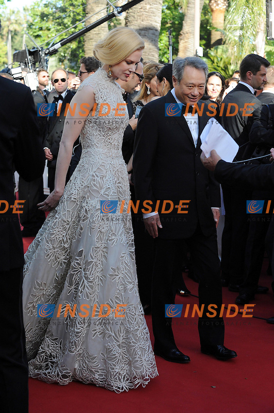 Nicole Kidman .Cannes 23/5/2013 .66mo Festival del Cinema di Cannes 2013 .Foto Panoramic / Insidefoto .ITALY ONLY