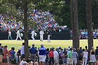 Tiger Woods (USA) during the 1st round at the The Masters , Augusta National, Augusta, Georgia, USA. 11/04/2019.<br /> Picture Fran Caffrey / Golffile.ie<br /> <br /> All photo usage must carry mandatory copyright credit (&copy; Golffile | Fran Caffrey)