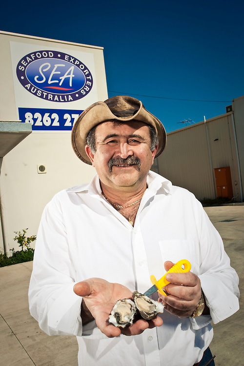Mike Filippidis of Seafood International , Exporting Smoked Fish and Oysters.