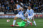 CD Leganes's Martin Braithwaite during La Liga match between CD Leganes and Levante UD at Butarque Stadium in Leganes, Spain. March 04, 2019. (ALTERPHOTOS/A. Perez Meca)
