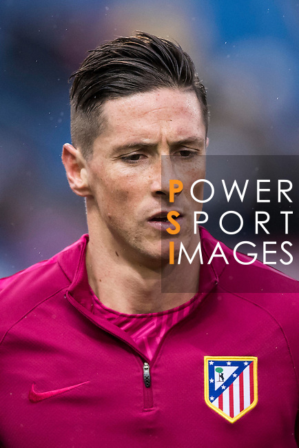 Fernando Torres of Atletico de Madrid in training prior to the La Liga match between Atletico de Madrid and Deportivo Leganes at the Vicente Calderón Stadium on 04 February 2017 in Madrid, Spain. Photo by Diego Gonzalez Souto / Power Sport Images