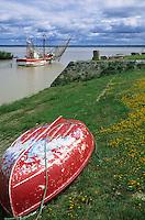 Europe/France/Aquitaine/33/Gironde/Env de Saint-Seurin-de-Cadourne: Port de la Maréchale sur la Gironde