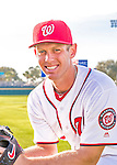 28 February 2016: Washington Nationals starting pitcher Stephen Strasburg poses for his Spring Training Photo-Day portrait at Space Coast Stadium in Viera, Florida. Mandatory Credit: Ed Wolfstein Photo *** RAW (NEF) Image File Available ***
